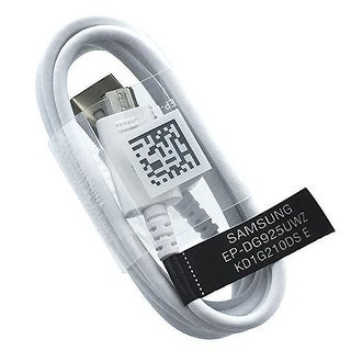 Non-Retail Replacement Fast Charging Micro USB Cable for Samsung Devices-- One Cable