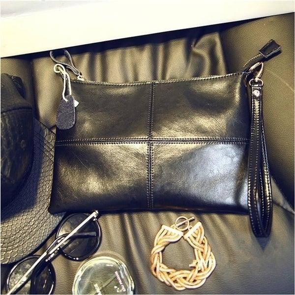 Cowhide envelope bag fashion women  x27 s fashion genuine leather handbag  day clutch 63c932ee18c0e