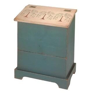 Kitchen Storage Green/Natural Single Bin 25.5H x 20 W Renovator's Supply