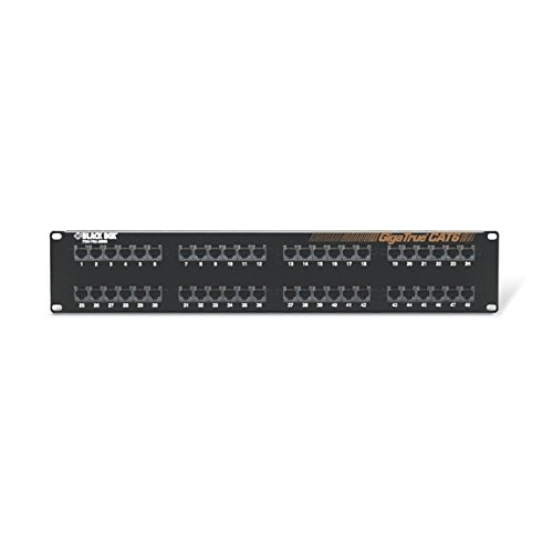 Black Box Network Services - Gigatrue Cat6 Patch Panel 48 Port