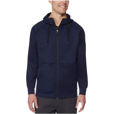 32 Degrees Navy Blue Mens Size Large L Hooded Fleece Jacket