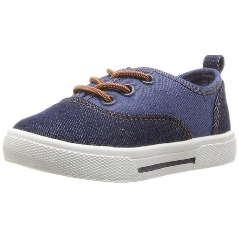 Kids Carter's Boys MAXIMUS2 Fabric Low Top Lace Up Fashion Sneaker