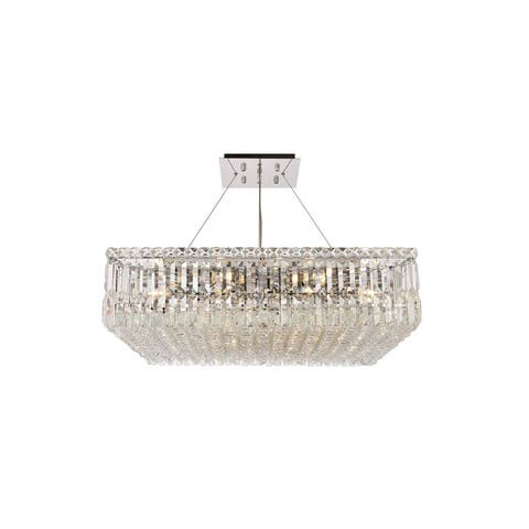 Maine 12 Light Chandelier - 28 Inch