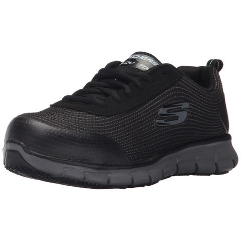 52f03be491e Skechers For Work Women s Synergy Wingor Work Shoe