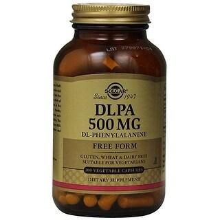 Solgar - Dlpa 500 mg Vegetable Capsules - 100
