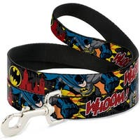 Dog Leash - Batman in Action WHOOM! Red Skyline