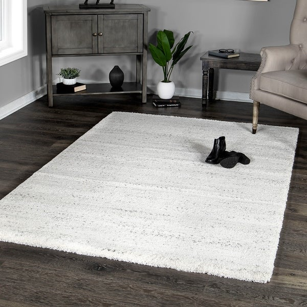 """Orian Super Soft Calgary Ivory Area Rug (5'3"""" x 7') - 5'3"""" x 7'. Opens flyout."""