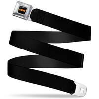 Hemi 426 Logo Full Color Black Orange Black Webbing Seatbelt Belt Fashion Seatbelt Belt
