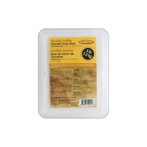 Life/Party Soap Base Glycerin 5lb Double Butter
