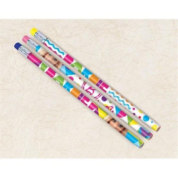 Amscan 395966 Barbie Sparkle Pencil - Pack of 72