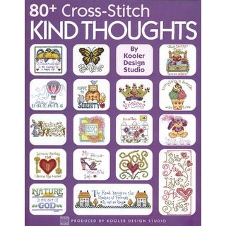 Leisure Arts-80+ Cross Stitch Kind Thoughts