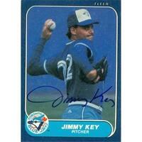 Shop Jimmy Key Autographed Baseball Card Toronto Blue Jays 1991