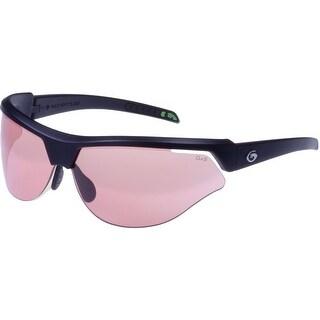 Gargoyles CardinalPR Sunglasses Matte Black Frame/Rose Lenses