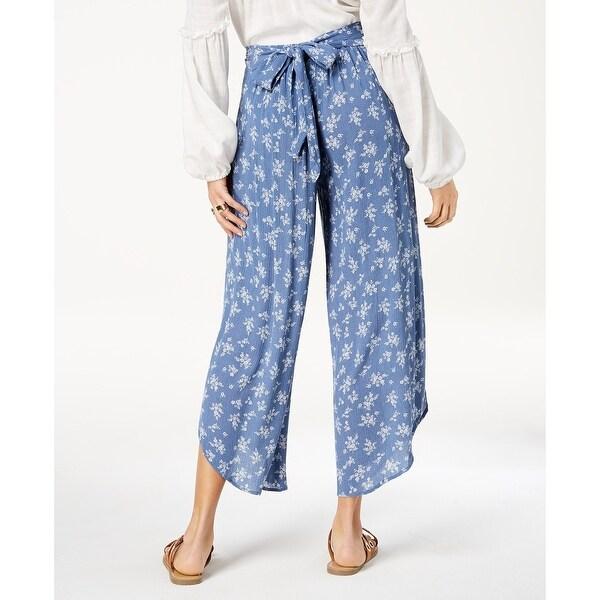 American Rag Juniors Printed Tulip-Leg Soft Ankle Pants Juniors Printed Tulip-Leg Soft Ankle Pants