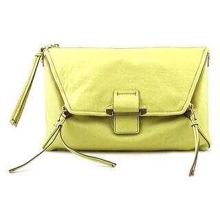Kooba Jonnie Clutch Women Leather Clutch - Yellow
