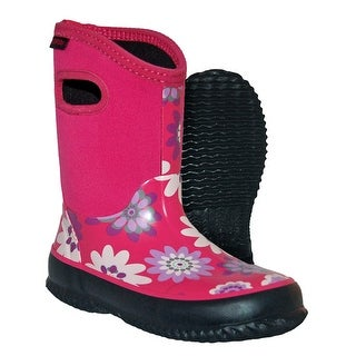 Itasca Kids' Youth Bayou Rubber/Neoprene Waterproof Rain Boot
