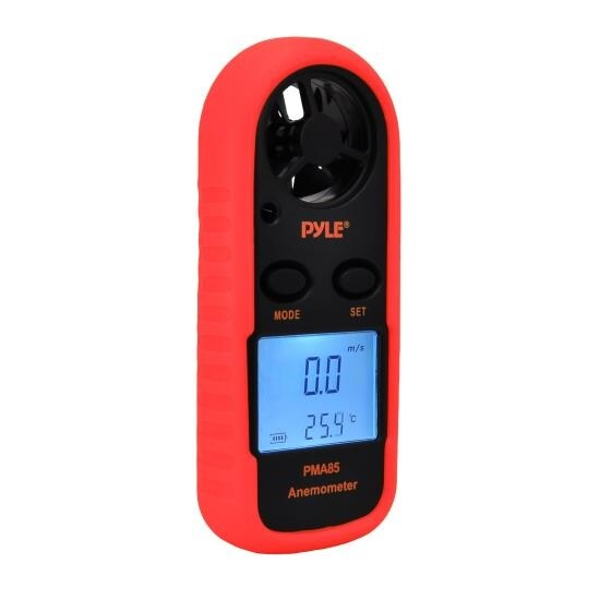 2-in-1 Digital Anemometer & Thermometer - Air Velocity (Wind) and Temperature Meter