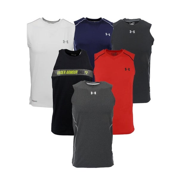 f16f0b8f9 Shop Under Armour Men's Mystery Sleeveless T-Shirt - Assorted - On Sale - Free  Shipping On Orders Over $45 - Overstock - 24224259