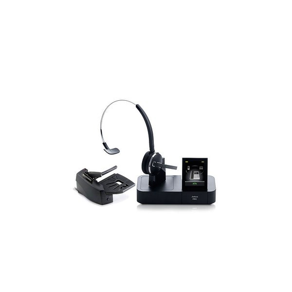 1795618cc19 Jabra GN Netcom PRO 9470 Mono Wireless Bluetooth Headset w/ Lifter & 3  Wearing