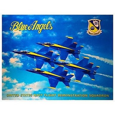 Blue Angels Licensed Diamond Formation Brazilian Velour Blanket Beach Towel 58 x 74 inches