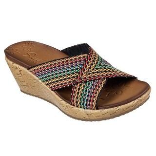 Skechers 38554 MLT Women's BEVERLEE-DELIGHTED Sandals