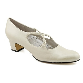 Trotters Jamie W Round Toe Leather Heels