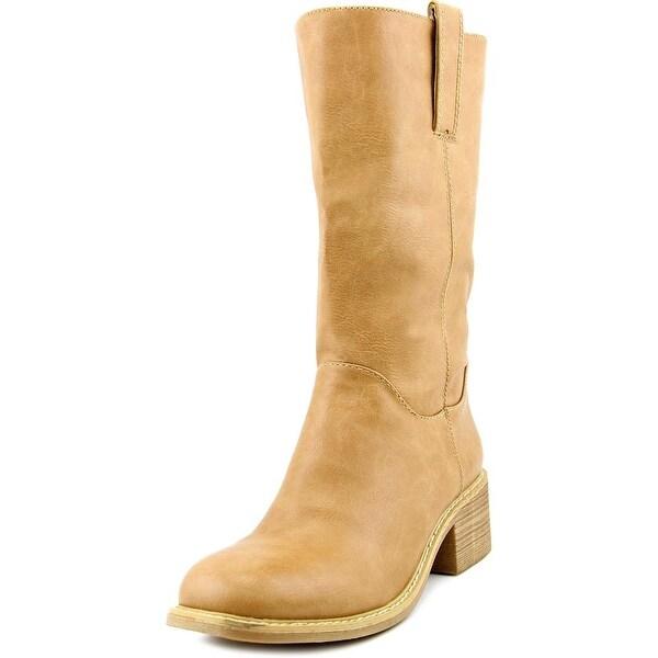 Dolce by Mojo Moxy Bounty Women Round Toe Synthetic Mid Calf Boot