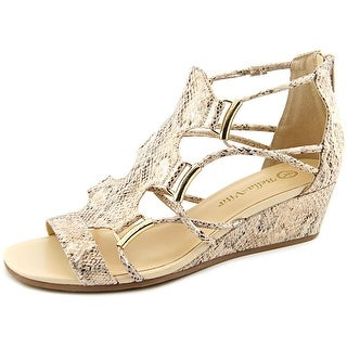 Bella Vita Isla II WW Open Toe Canvas Sandals
