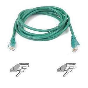 Belkin Components - Patch Cable - Rj-45 (M) - Rj-45 (M) - 7 Ft - Utp ( Cat 6 ) - Green