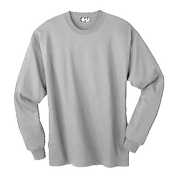 caa1bfb80eb4 Shop Hanes Men's ComfortSoft Heavyweight Long Sleeve T-Shirt (3 Pac Light  Steel - On Sale - Free Shipping On Orders Over $45 - Overstock - 25693662