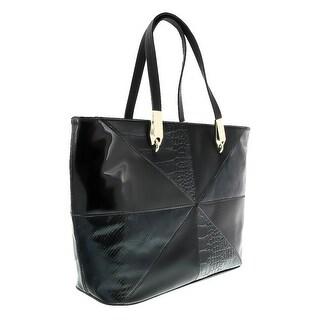 Versace EE1VOBBM1 E899 Black Satchel - 14.5-12-5.5