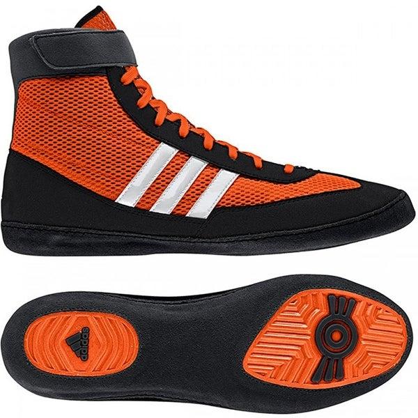 promo code 7638c 0c5b5 Adidas Combat Speed 4 Wrestling Shoes - Orange White Black