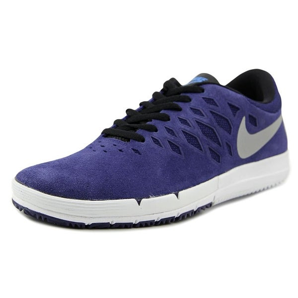 Nike Free SB Men Round Toe Synthetic Blue Sneakers