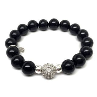 "Black Onyx Radiance 7"" Bracelet