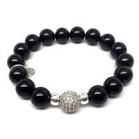 "Black Onyx Radiance 7"" Bracelet"