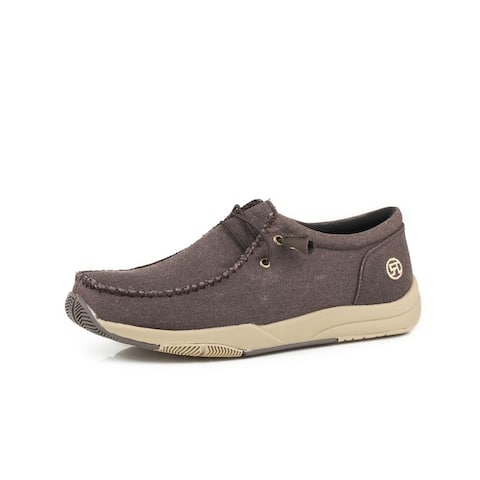 Roper Western Shoes Mens Clearcut Low Chukka
