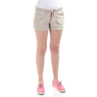 REWIND Womens New 1177 Beige Pocketed Cropped Casual Short M B+B
