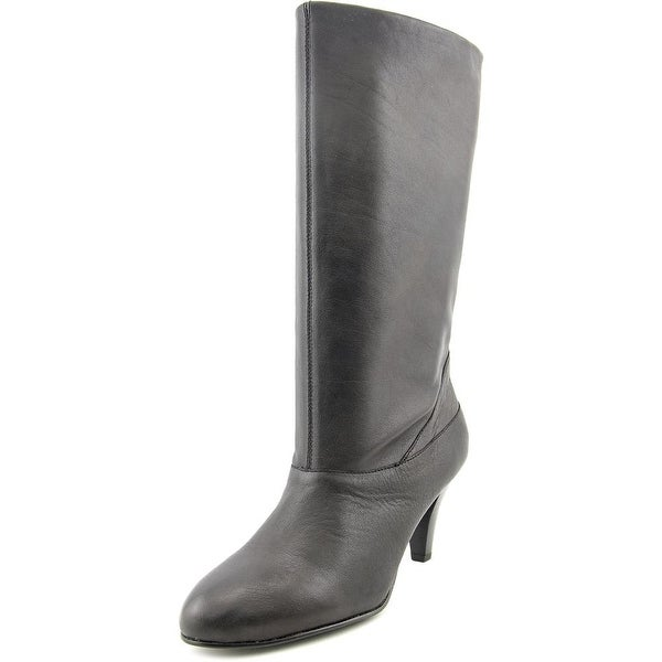 Kelsi Dagger Polianna Women Round Toe Leather Mid Calf Boot