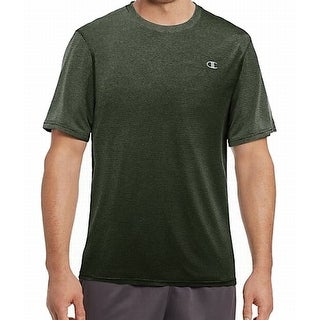 Champion NEW Bottle Green Mens Size 2XL Performace Shirt Athletic Apparel 093
