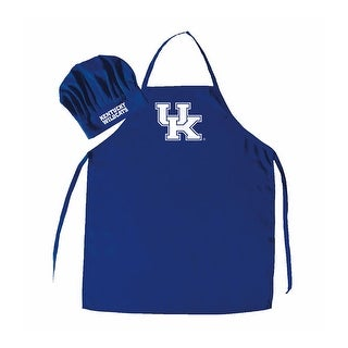 NCAA Kentucky Wildcats Chef Hat And Apron