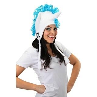 My Little Pony DJ Pon3 Knit Laplander Costume Hat - White
