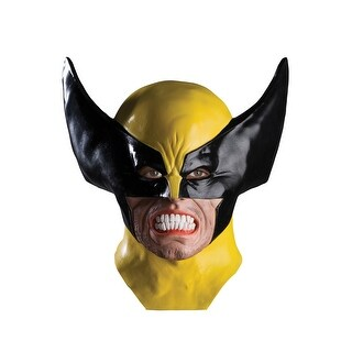 Rubies Wolverine Adult Mask - Yellow