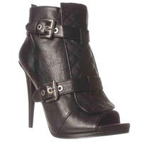 Nine West Arivaderci Ankle Boots, Black2