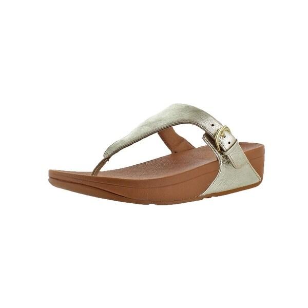Fitflop Womens Skinny Toe Thong Thong Sandals Toning Comfort