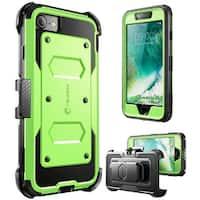 SUPCASE-Apple iPhone 7 Plus ,Unicorn Beetle PRO Case-Green/Gray