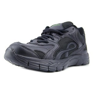 Earth Exer-Walk Women  Round Toe Leather Black Walking Shoe