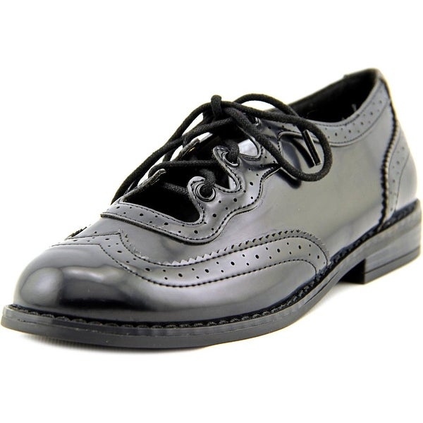 Rocket Dog Melody Women Wingtip Toe Synthetic Black Oxford