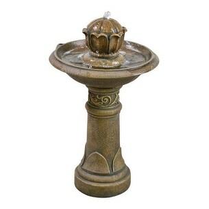 Bond Y95323 Polyresin Outdoor Fountain