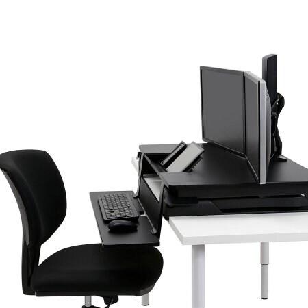 Ergotron - Workfit-Tle, Sit-Stand Desktop