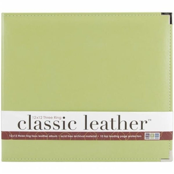 Shop Classic Leather 3 Ring Album 12 X 12 In Coral Free